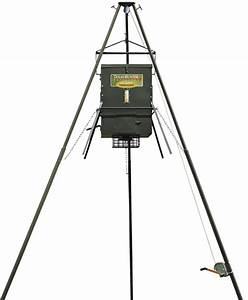 300 Lb  Wildlife Feeder With Ez Lift System