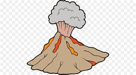gambar mewarnai gunung meletus