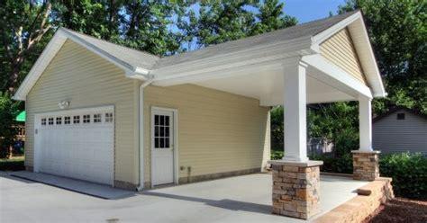 adding a carport to an existing garage garage ideas