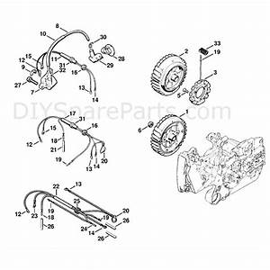 Stihl Ms 440 Chainsaw  Ms440 N  Parts Diagram  Ignition System