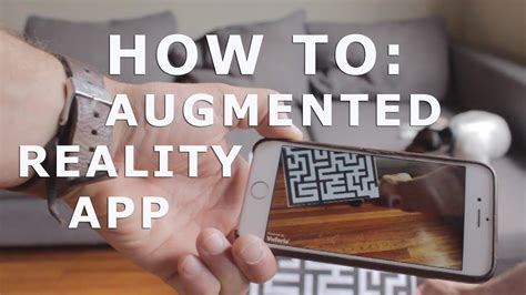 How To by How To Augmented Reality App Tutorial For Beginners With