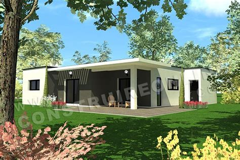 maison bois contemporaine pas cher plan de maison contemporaine travel