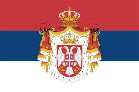State Flag Of Serbia (1882-1918).svg