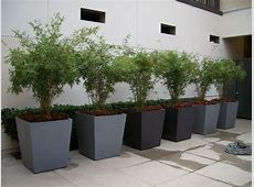 Large Modern Planter Mid Century Pots And Planters Square