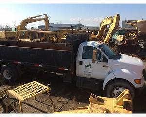 2001 Ford F-650 Landscape Truck For Sale
