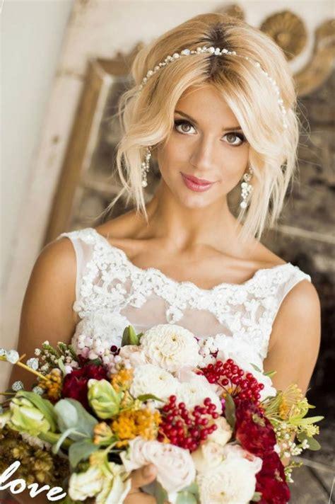 wedding hairstyle  medium hair