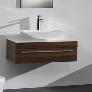 meuble vasque a poser With meuble de salle de bain pour vasque à poser