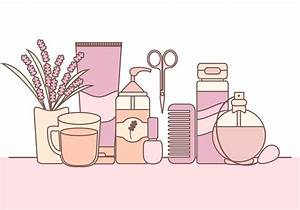 Vector Illustration of Skin Care Products - Download Free ...