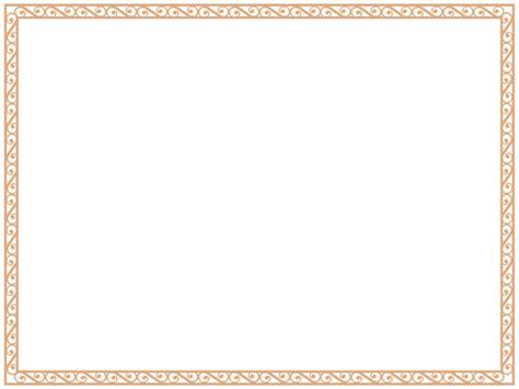 diploma border template certificate border template