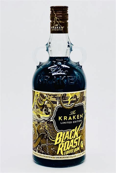 """That's when the real favours can be tasted optimally. Kraken """"Black Roast"""" Coffee Rum 