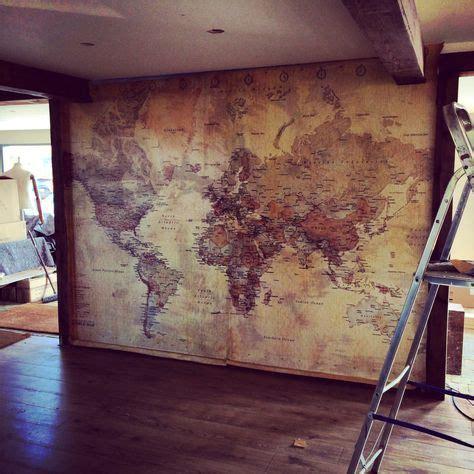 9 best images about decorar con mapa mundo on