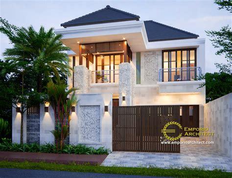 inspirasi desain rumah bergaya villa bali tropis