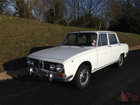 Alfa Romeo 1750 Berlina Original Rhd 1971 Tax-exempt Classic