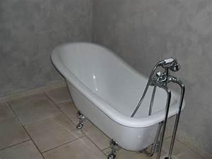 Baignoire Avec Pied : la baignoire photo 6 7 il s 39 agit d 39 une baignoire sur ~ Edinachiropracticcenter.com Idées de Décoration