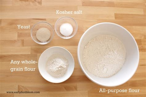 How to make 4 ingredient bread (no-knead recipe ...
