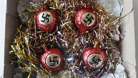 Public Outrage As Nazi Christmas Baubles Are Sold On Czech Dorm Room Lounge Chairs Living Floor Tile Design Ideas Divider New York Texas Tech Rooms Wooden Showcase Designs For Dining Chat Kids Outdoor Images