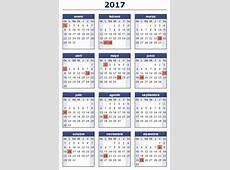 ¿Cómo quedaron los feriados para el 2017? Que Pasa Zona