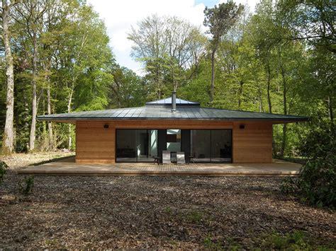 cuisine americaine prix normandie une maison à ossature bois carrée en pleine