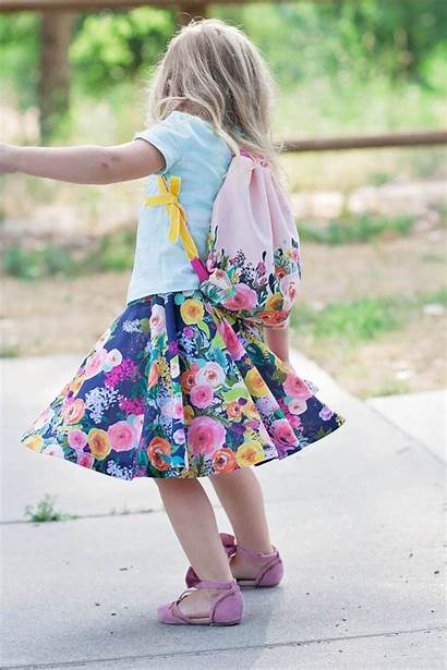 Circle Sewing Tutorial Skirt Pattern Diy Drawstring