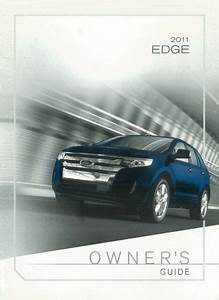 2011 Ford Edge Owners Manual User Guide Reference Operator