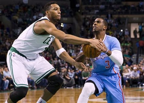Celtics vs. Clippers March 29, 2015 - Press Herald