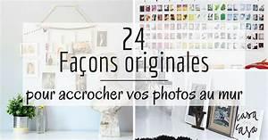 Guirlande Accroche Photo : accrocher photos cadres posters ou de l 39 art vos murs ~ Teatrodelosmanantiales.com Idées de Décoration
