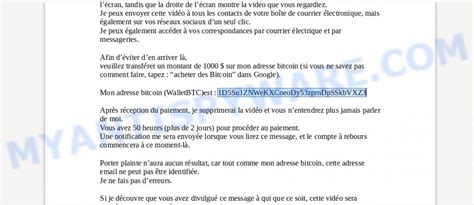 Here's how you can deal with such bitcoin blackmail emails. 1D5Su1ZNWeKXCoeoDy53zprnDpSSkbVXZ3 Bitcoin Email Scam