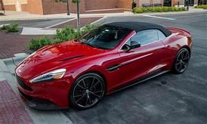 Beautiful Beast: Red Aston Martin Vanquish Volante