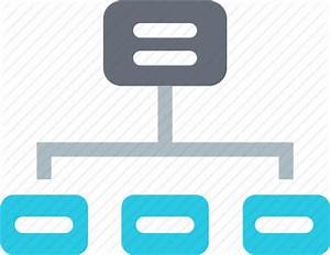 Chart  Connection  Diagram  Graph  Network  Server  Sitemap Icon
