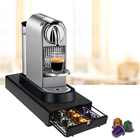 amos 30 nespresso coffee capsule pod drawer holder storage tray organiser dispenser machine