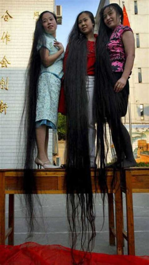 people  ridiculously long hair klykercom