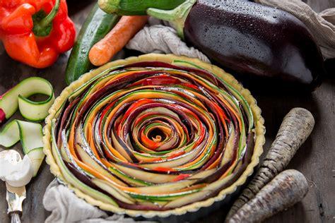 torta salata  verdure  spirale vegan senza glutine