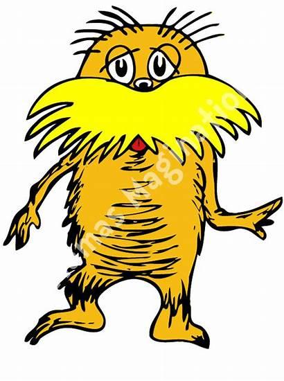 Seuss Lorax Dr Clip Clipart Characters Cliparts