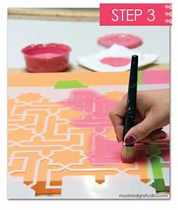 hometalk how to stencil custom canvas wall art using With what kind of paint to use on kitchen cabinets for hydrangea canvas wall art