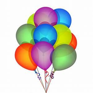 Globos del vector de cumpleaños Descargar vector