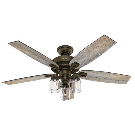 home elegance ceiling fan 52 hunter 52 inch highbury ceiling fan the home depot canada