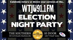 WTJU Election Night Party | The Southern Cafe & Music Hall