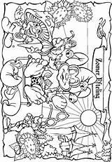 Coloring Park Pages Amusement Fun Efteling Kleurplaat Adults Colouring Disney Adult Voor Volwassenen Theme Summer Bing Parks Coloringpages1001 Op Fairy sketch template