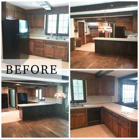 log homes interior designs rustic farmhouse kitchen makeover hometalk