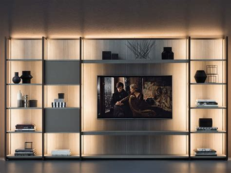 Libreria Con Tv by Continuum Libreria Con Porta Tv By Natevo Design Matteo