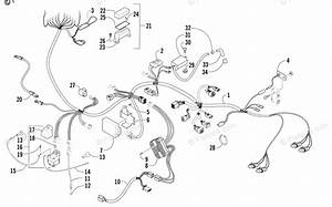 Arctic Cat Atv 2005 Oem Parts Diagram For Wiring Harness Assembly