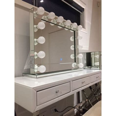 makeup mirror with lights vanity makeup mirror with dimmable lights buy