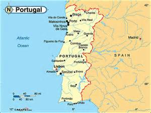 Weather Portugal Map