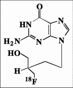 Structure Of 18 Ffhbg  Presence Of Fluorine Atom Renders