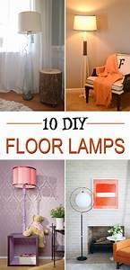 10, Gorgeous, Diy, Floor, Lamps, To, Brighten, Your, Space