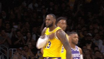 lebron james  gif  nba find share  giphy