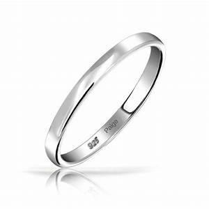 925 sterling silver wedding band thumb toe ring 3mm for Silver band wedding rings