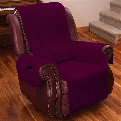 recliner chair slipcovers recliner chair arm covers fleece lazy boy furniture