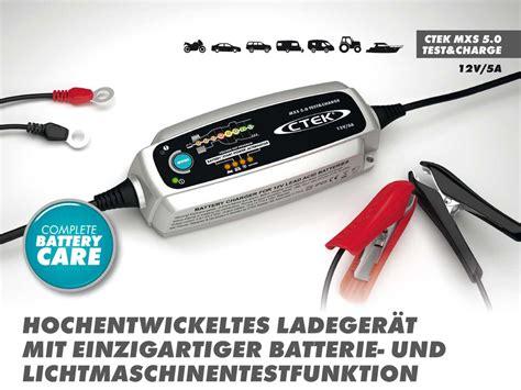 ctek ladegerät mxs 5 0 ctek mxs 5 0 t c charger trickle charger battery tester charge test ebay