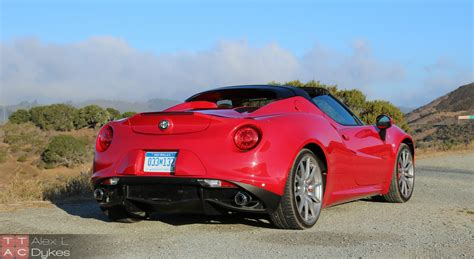 2016 Alfa Romeo 4c Spider Review (with Video